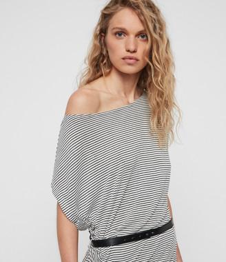 AllSaints Brea Stripe Dress