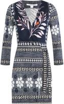 Diane von Furstenberg Printed Silk Jumpsuit