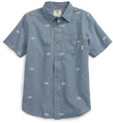 Vans Boy's Houser Woven Shirt