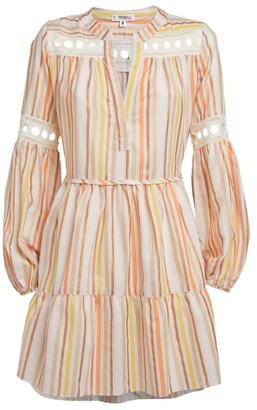 Lemlem Retta Blouse Mini Dress