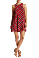 Angie Racerback Plaid Swing Dress
