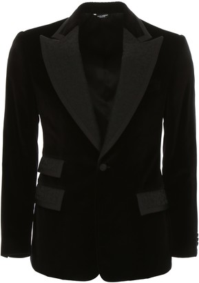 Dolce & Gabbana Velvet Dybala Jacket
