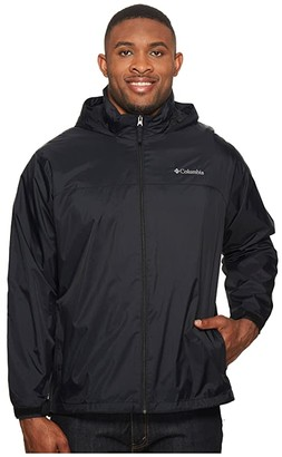 Columbia Big Tall Glennaker Lake Lined Rain Jacket Grey/Graphite) Men's Coat