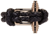 Givenchy Black Braided Obsedia Bracelet