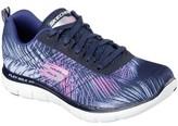 Skechers Flex Appeal 2.0 Tropical Breeze Womens Sports Trainers blue