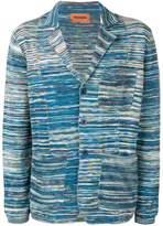 Missoni blue blazer cardigan
