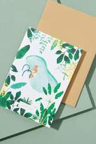 Anthropologie Piscine Chill Time Card