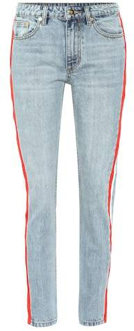 P.E Nation Alley-Oop striped jeans