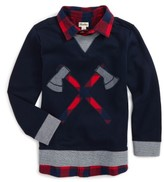 Hatley Boy's Fooler Sweater