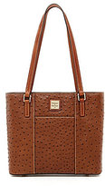Dooney & Bourke Small Lexington Ostrich-Embossed Tote