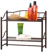 Creative Bath Two-Shelf Wall Organizer