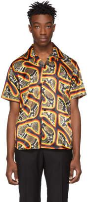 SSS World Corp Multicolor Snake Hawaiian Shirt