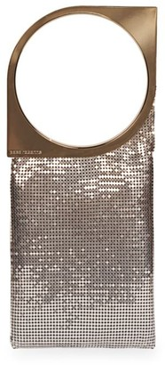 Paco Rabanne Ombre Metal Mesh Clutch
