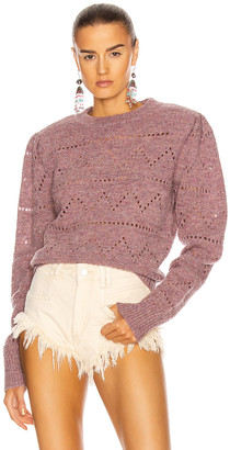 Etoile Isabel Marant Norma Sweater in Rosewood | FWRD