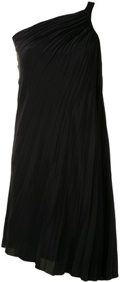 Christian Dior Pre-Owned One Shoulder Pleated Dress