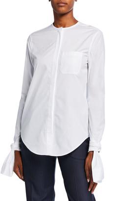 Coperni Knotted-Cuff Shirt