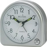 Acctim Mini Arched Alarm Clock Silver