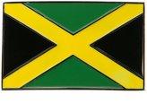 Unknown Jamaican Flag Belt Buckle - OSFM