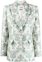 Thumbnail for your product : Zimmermann Ladybeetle brocade tuxedo jacket