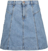 Current/Elliott The Skater denim mini skirt