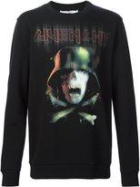 Givenchy skull and crossbones print sweatshirt