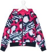 Kenzo tiger print reversible jacket