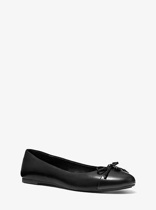 Michael Kors Melody Two-Tone Ballet Flat