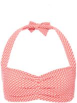Laura Urbinati Retro Jacquard Bikini Top
