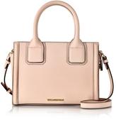 Karl Lagerfeld Light Pink Saffiano Leather K/Klassic Mini Tote