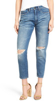 BLANKNYC Denim Ripped Mom Jeans