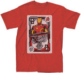 Iron Man Novelty T-Shirts Marvel King Card Graphic Tee