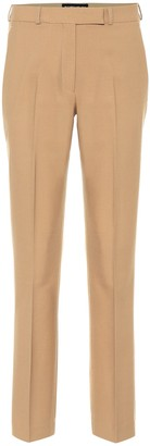 Etro Stretch-wool straight-leg pants