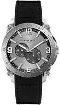 Pierre Petit Men's P-804A Serie Le Mans Automatic Sunray Dial Genuine Leather Watch