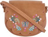 Accessorize Folk Floral Saddle Bag