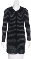 Isabel Marant Angora Striped Cardigan