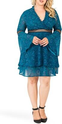 Standards & Practices Etsy Floral Print Fit & Flare Dress