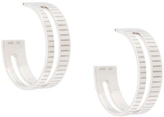 IVI Slot Hoop Earrings