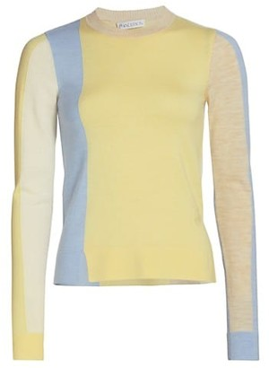 J.W.Anderson Colorblock Crewneck Sweater