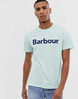 Barbour Ardfern big logo t-shirt in green
