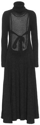 Alanui Turtleneck maxi dress