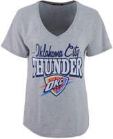 Mitchell & Ness Women's Oklahoma City Thunder Score V-Neck T-Shirt