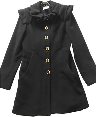 Temperley London Black Wool Coats