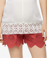 A Pea in the Pod Lace Maternity Shorts