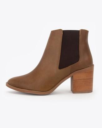 Nisolo Heeled Chelsea Boot Brown