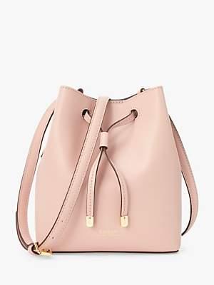 Ralph Lauren Ralph Dryden Debby Leather Bucket Bag