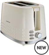 Morphy Richards Dimensions 2-Slice Toaster - Cream