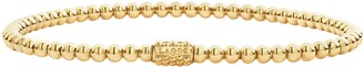 Lagos Caviar Gold Ball Stretch Bracelet