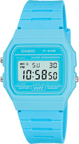 Casio F-91wc-2aef resin digital watch
