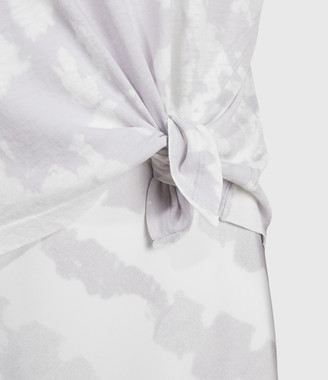 AllSaints Knot Tie Dye 2-In-1 Dress