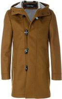 Calvin Klein hooded duffle coat